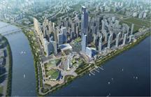 由北京建工集团总包,我司参与承建。本项目位于长沙市开福区,湘江与浏阳河交汇处,西临湘江,北依浏阳河,东靠芙蓉北路,南抵319国道城区段。项目占地面积约110万平方米,总建筑规模达537万平方米。其中,黄海标高39米架空平台上住宅面积300万平方米,酒店、商业、写字楼、公寓等综合公共建筑80万平方米;平台下社区商业配套和停车库等建筑面积157万平方米。荣获湖南省芙蓉杯奖项。