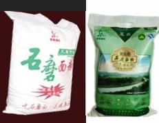 有机石磨面粉