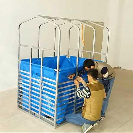 Domestic biogas plant-Shenzhen Puxin Technology Co  Ltd