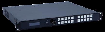 LED多画面视频处理器正面图