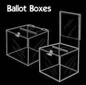 亚克力投票箱,亚克力透明盒