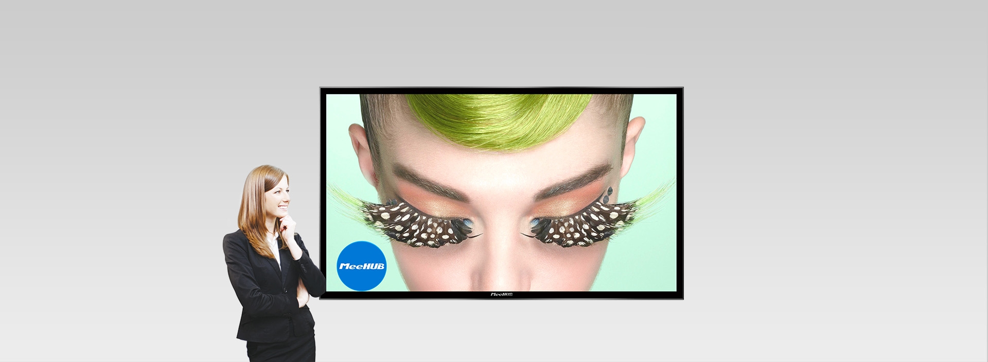 MeeHUB 超级会议平板:原笔迹书写、无线传屏、视频会议、多屏互动、随时批注等特点,为您带来大屏智能互动新体验!