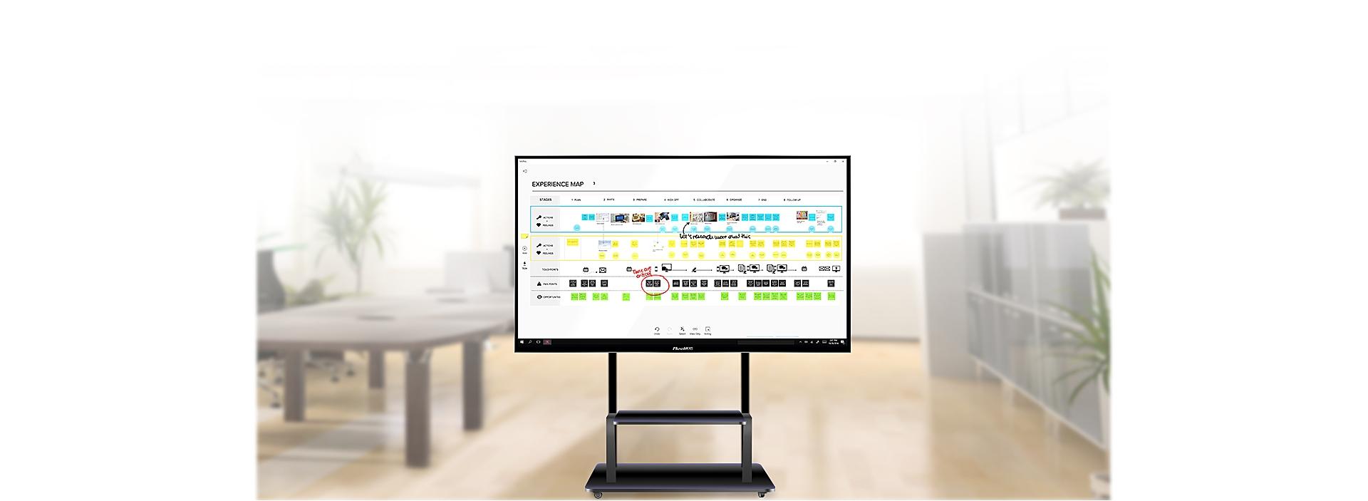 MeeHUB智能会议平板_电容触控_随时批注_无线投屏_多屏互动_提高会议效率MeeHUB智能会议平板:智能书写、无线传屏、视频会议、多屏互动、随时批注、手背擦除、多手势操作、扫码带走等特点,为您带来大屏智能互动新体验!